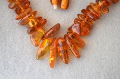 Baltic Amber Vintage Necklace by HighClassHighway on Etsy