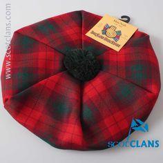 MacNab Tartan Tam. worldwide shipping available.
