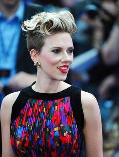 Scarlett Johansson at the Age Of Ultron Premiere in Balenciaga.