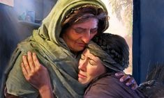 What made Ruth and Naomi inseparable? It's a story of loyal love and faith. When Ruth and Naomi left Moab for Bethlehem, why didn't Orpah stay with them? The Story Of Ruth, Book Of Ruth, Bible Images, Bible Pictures, Arte Lds, Mary Magdalene And Jesus, Caleb Y Sofia, Relief Society Activities, Woman Of God