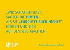 Eine tolle Postkartenserie des #KLJB-Landesverbandes Bayern! #weihnachtenistneuewegefinden