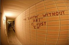 "The ""earth"" without art is just ""eh"" - Street Art Utopia Street Art Utopia, Posing Ideas, Graffiti, Best Street Art, Love Art, Oeuvre D'art, Artsy Fartsy, Vignettes, Just In Case"