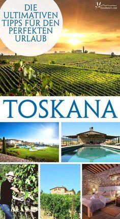 Die besten Tipps für einen entspannten Urlaub in der Toskana in Italien. Egal ob Rundreise, entspannter Urlaub am Meer oder Ferien zwischen üppigen Weinbergen - hier findest du die ultimativen Tipps für deinen nächsten Toskana-Urlaub!
