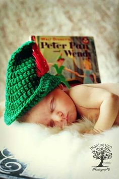 Peter Pan newborn www.imaginationphotog.com