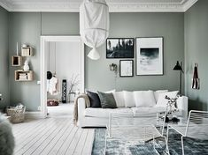 Green grey home with character – COCO LAPINE DESIGN