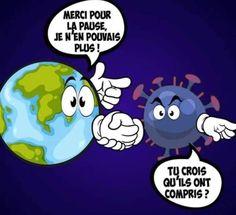 Terre vs Humain Good Jokes, Funny Jokes, Tour Eiffel, Vignettes, Smurfs, Family Guy, Lol, Messages, Humor