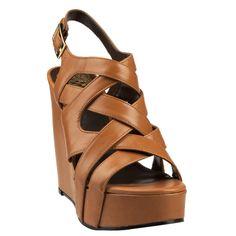 Vince Camuto Shivona Sling Back Sandal with High Wedge
