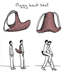 piggy back seat. i want this. why are we not funding this.