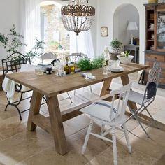 Mediterran Zu Tisch   Gesehen Auf Loberon.de Esstisch Landhausstil, Küche  Esszimmer, Rustikaler