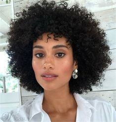 Best Indoor Garden Ideas for 2020 The number of internet users who are looking for… Undercut Curly Hair, Curly Afro, Short Curly Hair, Curly Hair Styles, Natural Hair Styles, African American Beauty, African American Hairstyles, Cute Natural Hairstyles, Afro Hairstyles