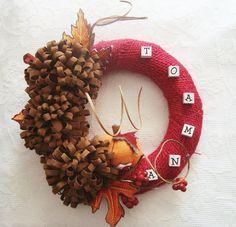 Burlap Wreath, Wreaths, School, Fall, Projects, Blog, Home Decor, Corona, Autumn