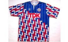 """Ajax's away shirt from the early 1990s. Umbro's designers deciding to """"go a bit nuts""""....."""