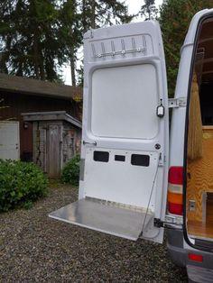 Interior Design Ideas For Camper Van Organization07