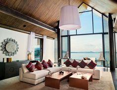 Beachfront Villa x Phuket Architect: Jean Michel Gathy