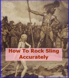 """rock sling accurately - It's not the """"rock clinging"""" that bothers me as much as the vast collection of weapons and somewhat vague thought process -"""