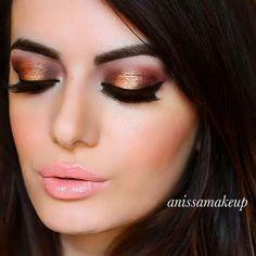 more makeup looks : http://instagram.com/anissamakeup/ #anissamakeup #makeup #instagram #beauty #girl