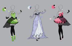 .::Outfit Adopt Set 3(CLOSED)::. by Scarlett-Knight.deviantart.com on @deviantART
