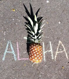 Aloha pineapple. Sharing our pineapple love, from Ke mana Jewelry www.kemanajewelry.com beach jewelry, live aloha