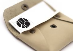 Identity & Business card for Nitmoi - leather crafted goods.