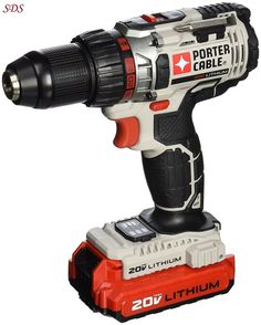 Cordless Drill Lithium Ion Drill Driver Kit Porter Cable 20 Volt 1/2 Inch NEW  | Home & Garden, Tools, Power Tools | eBay!