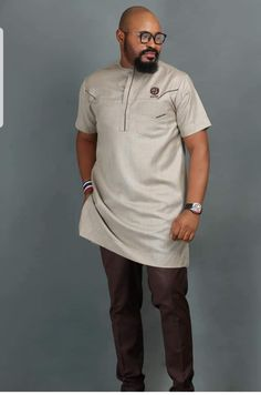 African Shirts For Men, Man Dressing Style, Shirt Dress, T Shirt, Stylish, Dresses, Fashion, Shirts, African Fashion