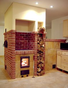 Wood Burning Fireplace Ideas Outdoor Kitchens New Ideas