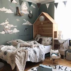 Reserved corresponded Kids room decor inspo check out here Kids Bedroom, Bedroom Decor, Shared Bedrooms, Of Wallpaper, Boy Room, Playroom, Toddler Bed, Decoration, Home Decor