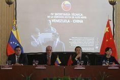 Venezuela y China revisan en Caracas cooperación bilateral con alcance a 10 años