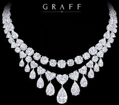 Discount Jewelry Graff Diamonds jewelry, this necklace to go with that stunning gown Prince of Pinners Graff Jewelry, Luxury Jewelry, Diamond Jewelry, Silver Jewelry, Fine Jewelry, Cheap Jewelry, Diamond Necklaces, Metal Jewelry, Diamond Rings