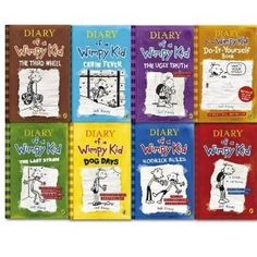Pin by pdf epub on reading pinterest jeff kinney wimpy and pdf diary of a wimpy kid collection 8 books set diary of a wimpy kid solutioingenieria Image collections