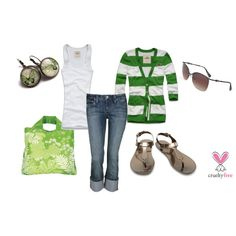 Bronze and Green, created by pbmhuck on Polyvore