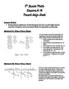 parent info sheet, common core math, lesson 16-18, engage ny, math module 2