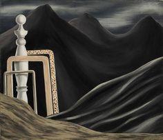 Rene Magritte - L'esprit du voyageur, 1926