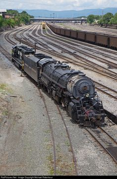 RailPictures.Net Photo: N&W 2156 Norfolk & Western Steam 2-8-8-2 at Roanoke, Virginia by Michael Ridenhour