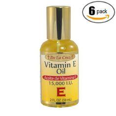 Vitamin E Oil Scars