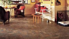 Duality Premium Collection of Mesita Vinyl by Armstrong | Colonial Red Color (15064)