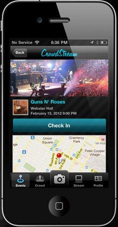 New social music app Crowd Stream