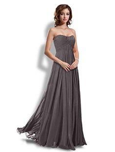 Long Bridesmaids Dresses Prom Dress Evening Wedding Gowns Gray20 *** Learn more by visiting the image link.