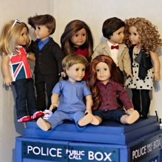 Doctor dolls! (and Companions too, of course)