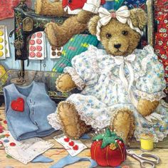 Bears And Bows 500pc