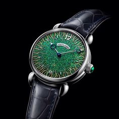 This symbiosis of Japanese tradition with the Swiss haute horlogerie creations of Kari Voutilainen represents an all-embracing mechanical and visual work of art that unites the East and West in perfect harmony. Amazing Watches, Cool Watches, Watches For Men, Unique Watches, Men's Watches, Grand Prix, Latest Watches, Unisex, Automatic Watch