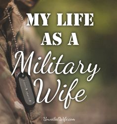 My Life As A Military Wife --- Even though the military is a huge part of my life, I rarely talk about it or post about it on my personal blog. There are a lot of topics surrounding military life that can be controversial – but if I'm being honest, the reason I don't talk… Read More Here http://unveiledwife.com/my-life-as-a-military-wife/