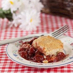 Cherry Orange Cobbler