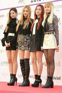 Jennie, Rose, Jisoo and Lisa