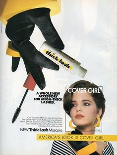 Cover Girl 90s graphics