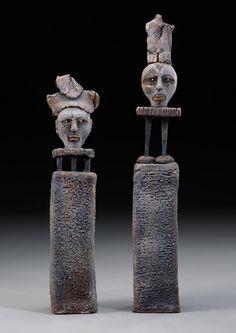 Sculpture-Figurative-Adele Macy: The Hierarchy