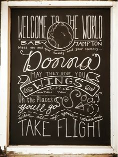Travel theme party {} welcome to the world {} airplane party {} chalkboard {} Colour and Dust