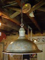 Rustic pendant light over the sink Keeping my eye out
