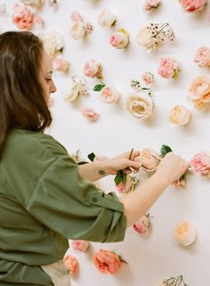 Do It Yourself Floral Wall * Floral Backdrop * Whole Sale Flowers (6)
