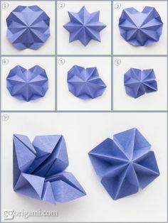 Origami Christmas Tree by Francesco Guarnieri   Go Origami!